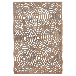 Amate Bark Paper from Mexico- Circular Woven Bayo 15.5x23 Inch Sheet