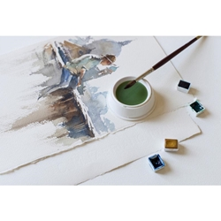 "Fabriano Esportazione Cold Press White Watercolor Paper - 22""X30"" Sheet"
