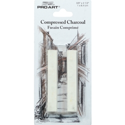 Pro Art Compressed Charcoal 2 Pack