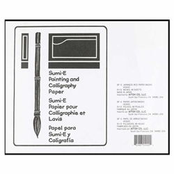 Hosho Paper Sumi-E Painting and Calligraphy Pad