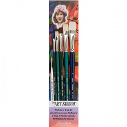 The Art Sherpa Explorer Brush 6 Piece Set