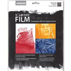 Jacquard Solar Fast Film - Transparent Film For InkJet Printers