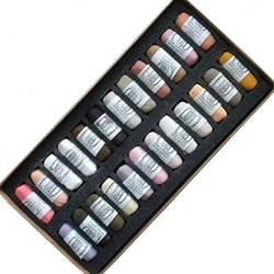 Diane Townsend Handmade Soft Pastel Sets - Flesh A Set of 24 Pastels