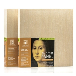 Ampersand Art Artist Panels   Unprimed Basswood