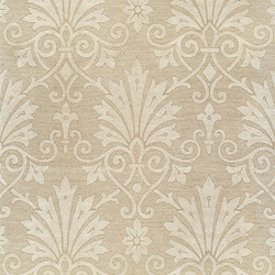 "Rossi Decorated Papers from Italy - Gold Damask Flowers 28""x40"" Sheet"