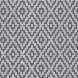 Zig Zag Steps Op Art (Optical Illusion) Paper- Silver on Gray