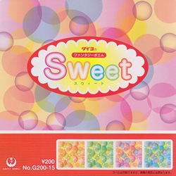 "Sweet Origami 5-7/8"" Square"