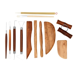Jack Richeson 12 Piece Deluxe Pottery Tool Set