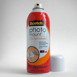 Photo Mount Spray Adhesive 10.25 oz can