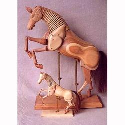 Artist's Wooden Horse Manikin