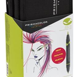 Prismacolor Art Marker Set 48 Color Brush Marker Set With Case