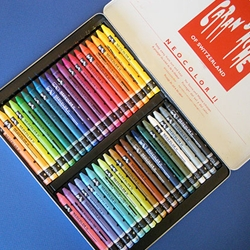 Caran D Ache Neocolor Ii Watersoluble Crayon Set Of 40 In