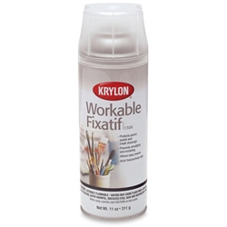 Krylon 1303 Crystal Clear Spray Acrylic Coating for Artists