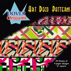 Dover Origami - Art Deco Patterns