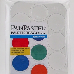 Pan Pastel Palette Empty Tray & Cover