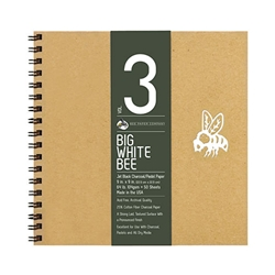 Bee Paper Big White Bee Volume 3 Charcoal Pad