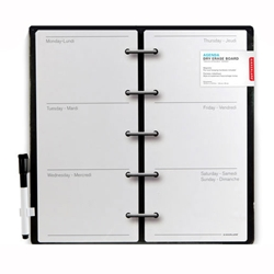 Decorative Magnetic Dry Erase Wall Calendar