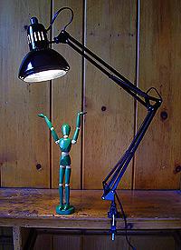 ALVIN Swing Arm Lamp