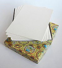 "Box of 100 8""x6"" Cards"