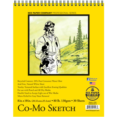 Co-Mo Sketch Pad by Bee Paper Co.