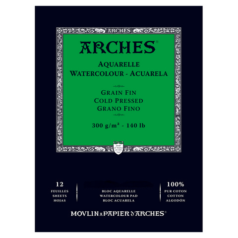 Arches 140lb Watercolor Pads - Cold Pressed