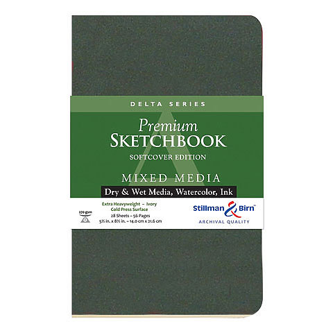 Stillman & Birn Delta Series Premium Soft-Cover Sketch Books