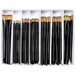 Royal & Langnickel Premier Artist Brush Collection - 72 Sunburst Watercolor & Acrylic Brushes