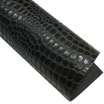 "Crocodile Embossed Paper- Black 22x30"" Sheet"