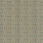 "Chinese Brocade Paper- Lucky Design Tan 26x16.75"" Sheet"