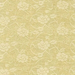 "Chinese Brocade Paper- Gold Tea Rose 26x36"" Sheet"