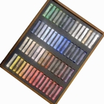 Schmincke Finest Extra-Soft Artist Pastels - Set of 60 in a Wood Box