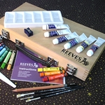 Reeves Oil Paint Artists Box