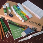 Reeves Acrylic Color Artists Box