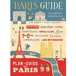 "Cavallini Decorative Paper - Paris Guide 20""x28"" Sheet"