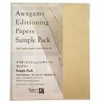 Awagami Editioning Papers Sample Pack