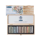 Schmincke Bright Shades 15 Piece Pastel Set in Wooden Case
