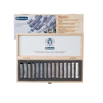 Schmincke Shadow and Light 15 Piece Pastel Set in Wooden Case