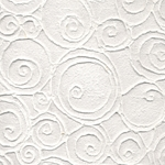Thai Heavily Embossed Paper- Swirling Ovals