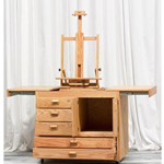 Best Taos Table with Deluxe Table Top Easel