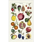 Cavallini Tea Towel- Fruit