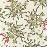 """NEW"" Rossi Decorated Papers from Italy - Mistletoe 28""x40"" Sheet"