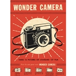 "Cavallini Decorative Paper - Wonder Camera 20""x28"" Sheet"
