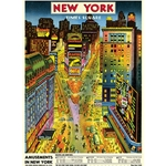 "Cavallini Decorative Paper - New York Times Square 20""x28"" Sheet"