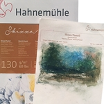 Hahnemuhle 8.3'' x 11.7'' Pastel Pad, Natural White - 30 sheet pad