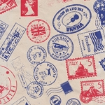 Nepalese Printed Paper- World Stamps