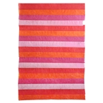 "Nepalese Striped Collage Paper- Shades of Red Collage 20x30"" Sheet"
