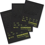 Stonehenge Aqua Black Watercolor Pads