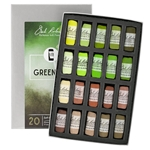 Jack Richeson Landscape Handrolled Set of 20 - Greenery