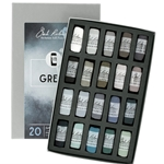 Jack Richeson Handrolled Color Set of 20- Greys
