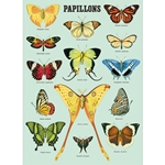 "*NEW!* Cavallini Decorative Paper - Papillons 20""x28"" Sheet"